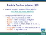quarterly workforce indicators qwi