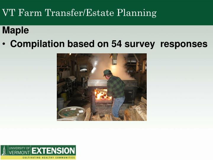 VT Farm Transfer/Estate Planning