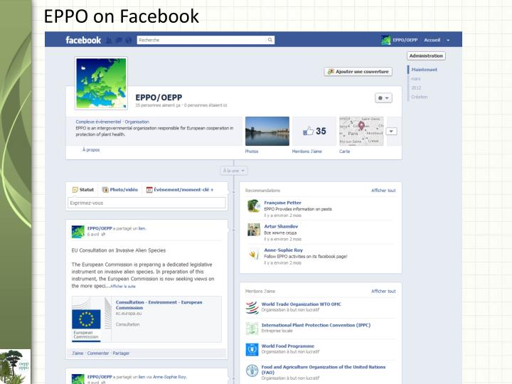 EPPO on Facebook