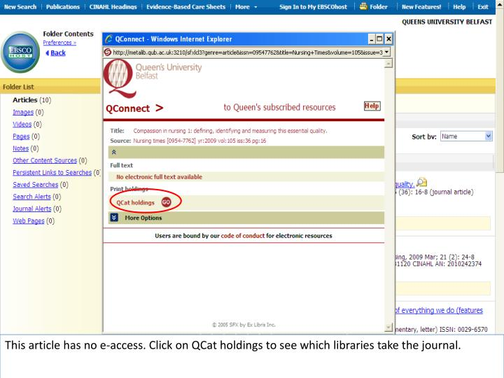 This article has no e-access. Click on QCat holdings to see which libraries take the journal.