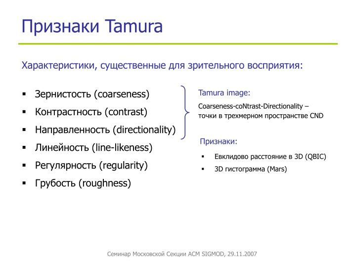 Tamura image:
