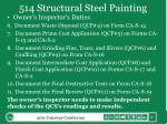 514 structural steel painting5