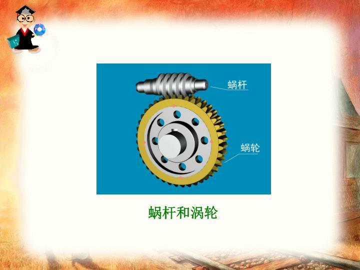 蜗杆和涡轮