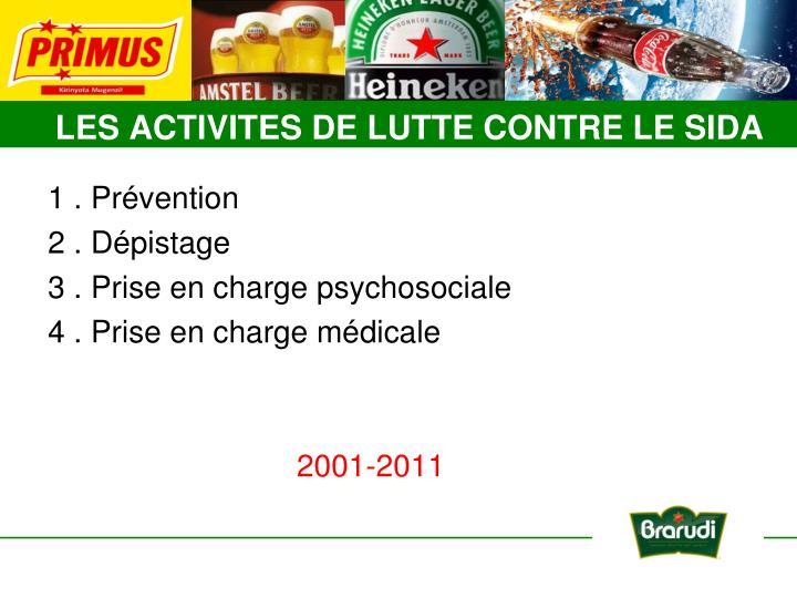1 . Prévention