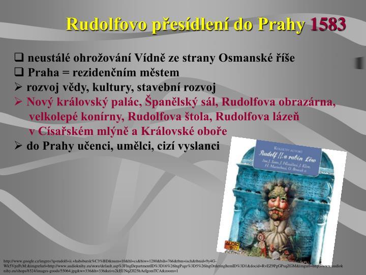 Rudolfovo přesídlení do Prahy