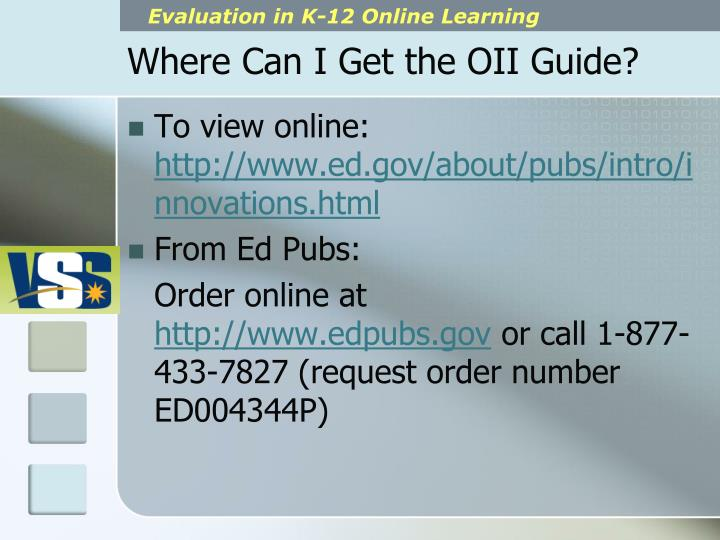 Where Can I Get the OII Guide?