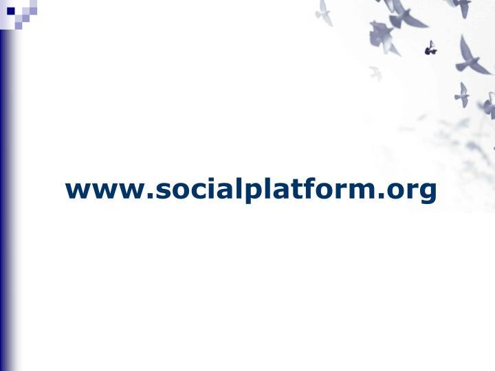www.socialplatform.org