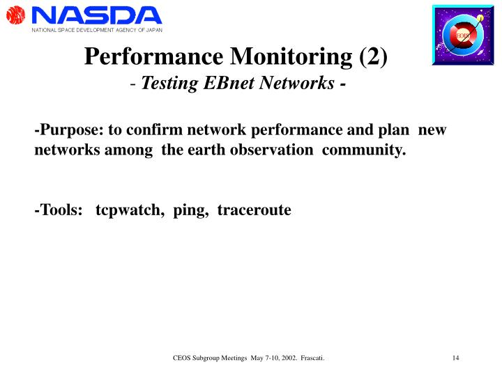 Performance Monitoring (2)