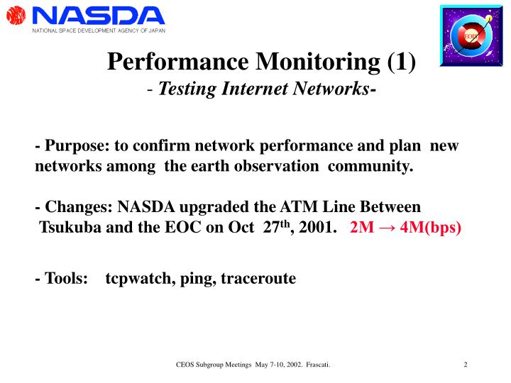 Performance Monitoring (1)