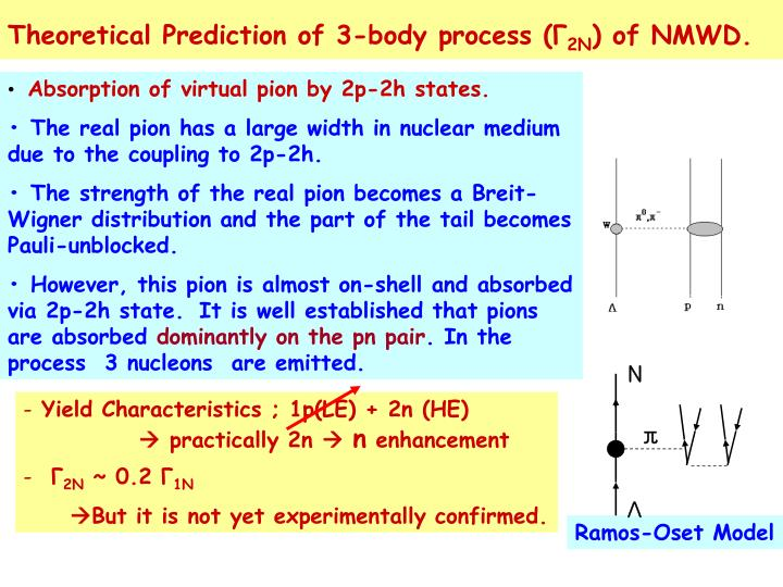 Theoretical Prediction of 3-body process (
