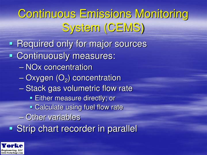 Continuous Emissions Monitoring System (CEMS)