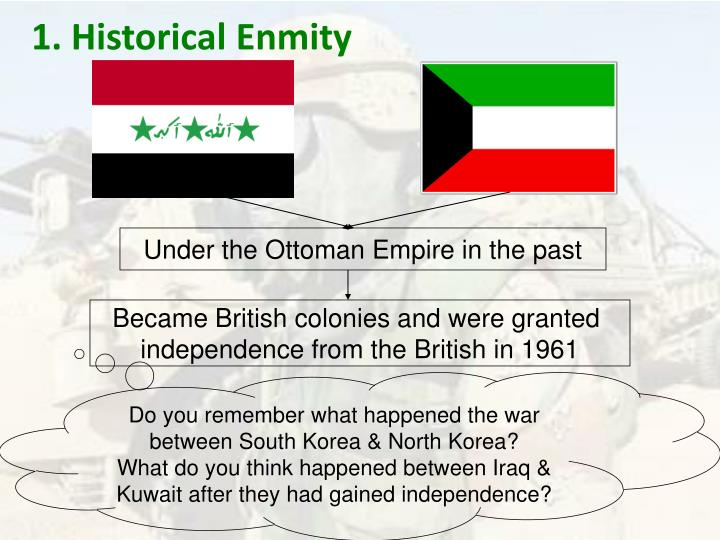 1. Historical Enmity