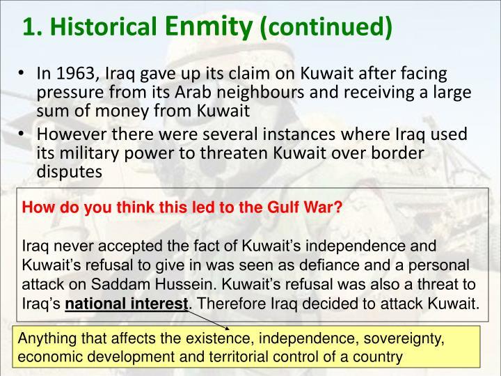 1. Historical