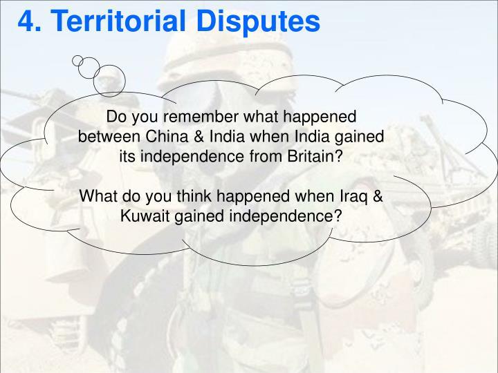 4. Territorial Disputes