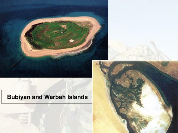 Bubiyan and Warbah Islands