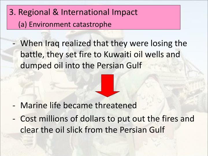 3. Regional & International Impact