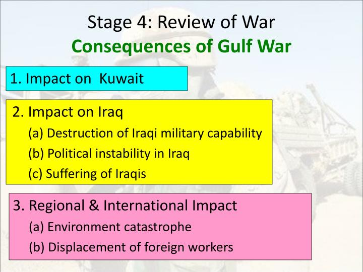 Stage 4: Review of War