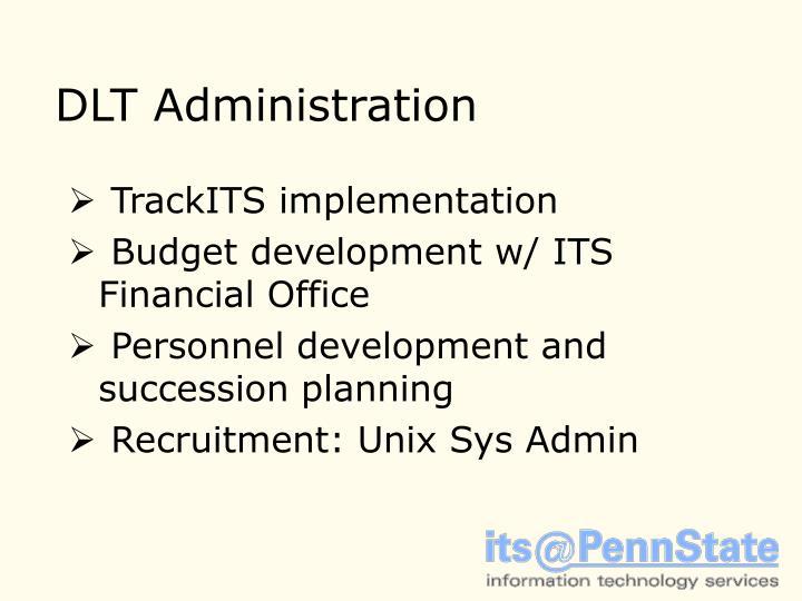 DLT Administration