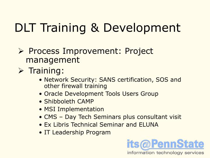 DLT Training & Development