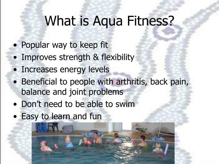What is Aqua Fitness?