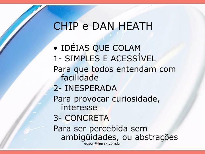 CHIP e DAN HEATH
