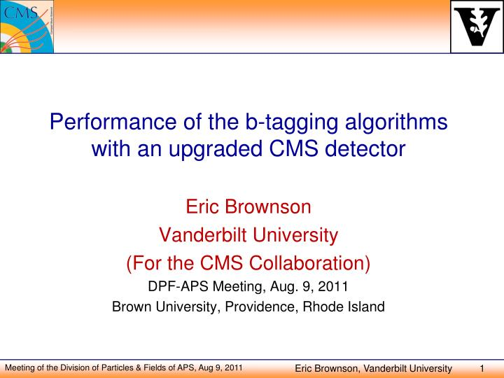 Performance of the b-tagging algorithms with an upgraded CMS detector