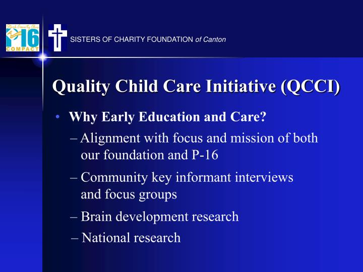Why Early Education and Care?