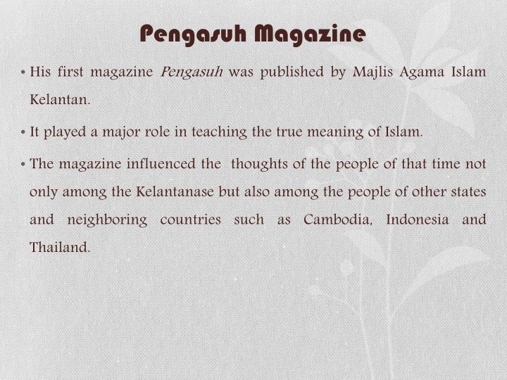 Pengasuh Magazine