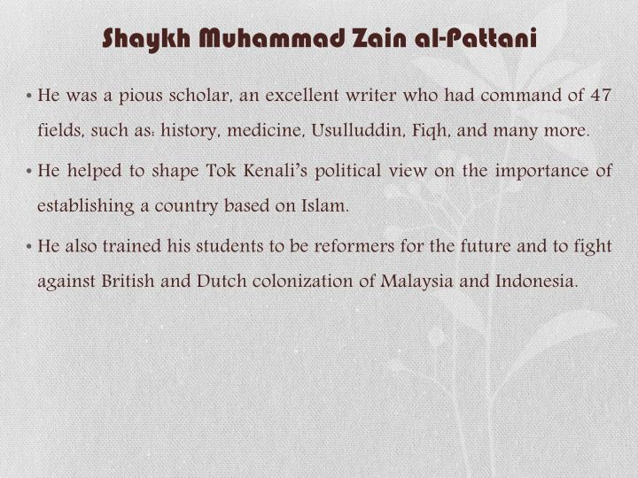 Shaykh Muhammad Zain al-Pattani