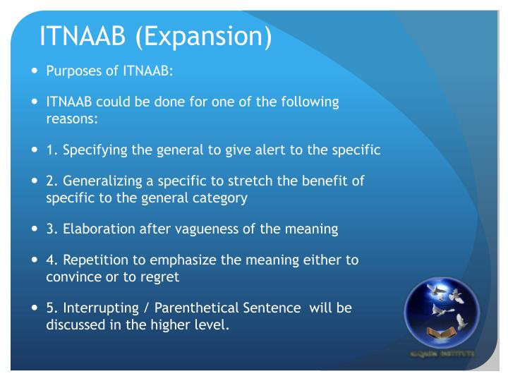ITNAAB (Expansion)
