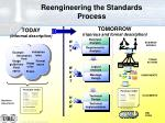 reengineering the standards process