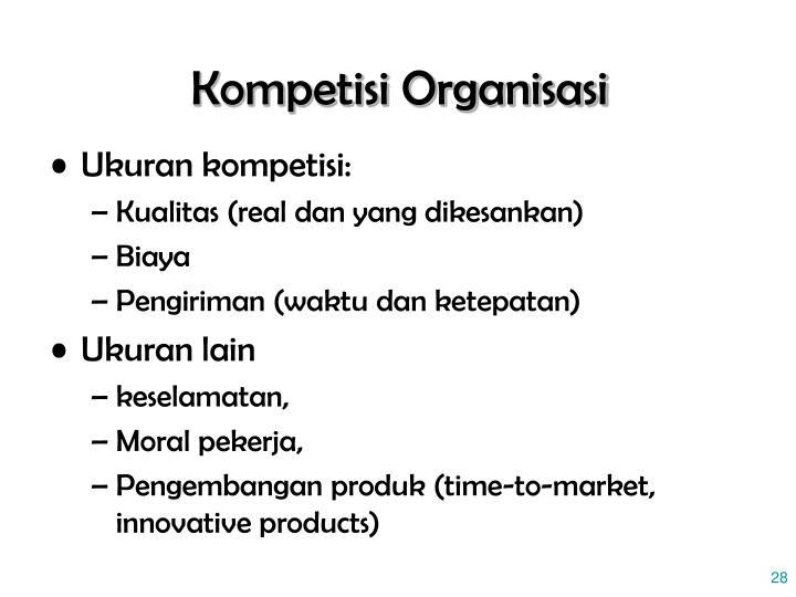 Kompetisi Organisasi