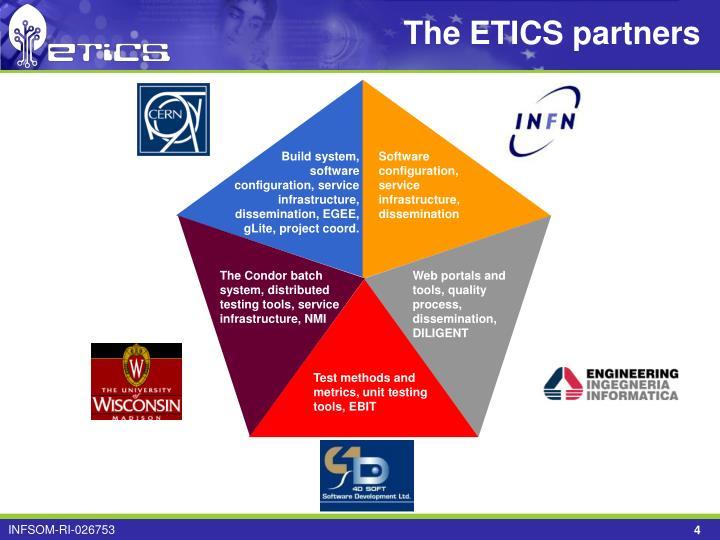 The ETICS partners