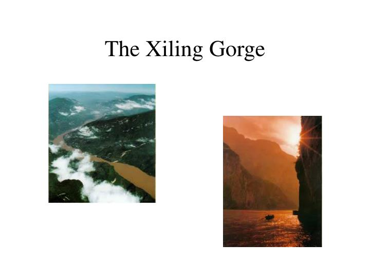 The Xiling Gorge