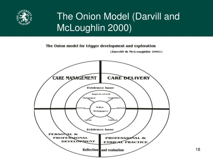 The Onion Model (Darvill and McLoughlin 2000)