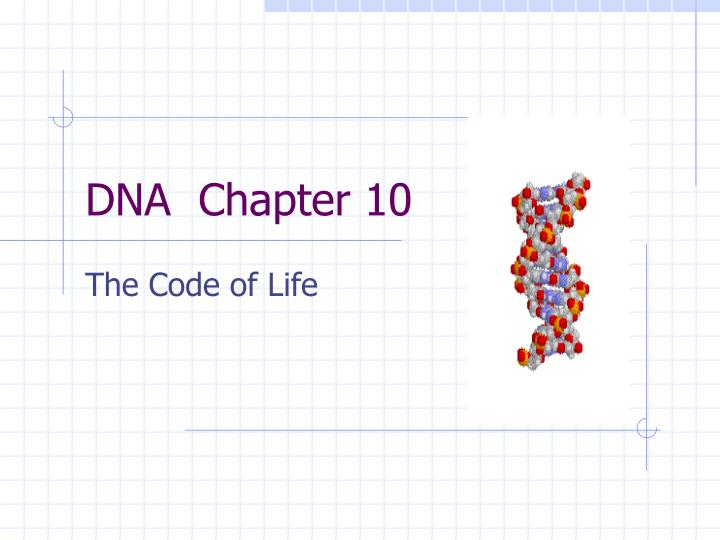Dna chapter 10