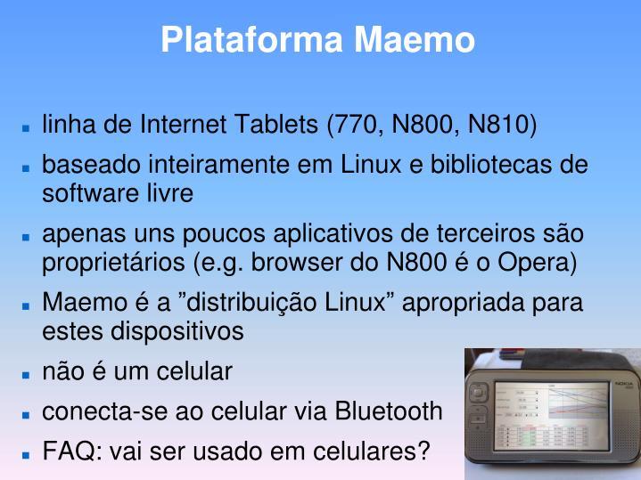 Plataforma Maemo