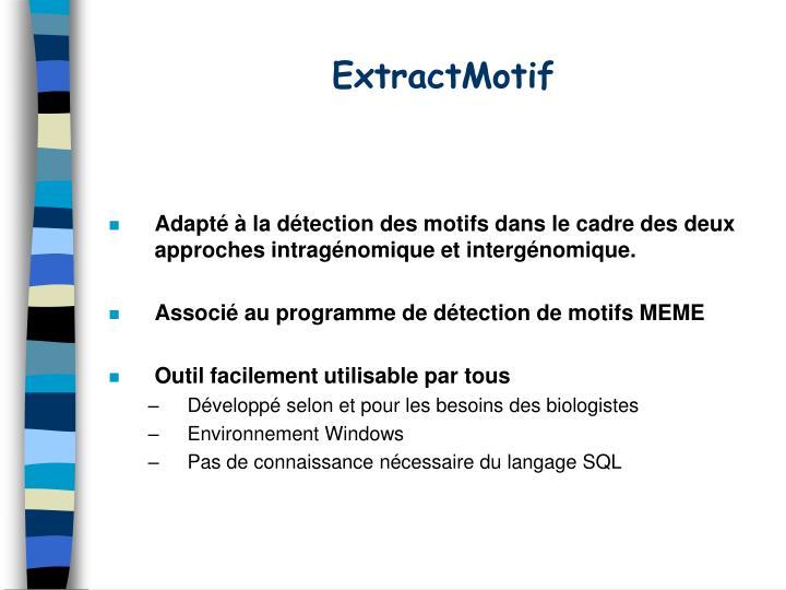 ExtractMotif