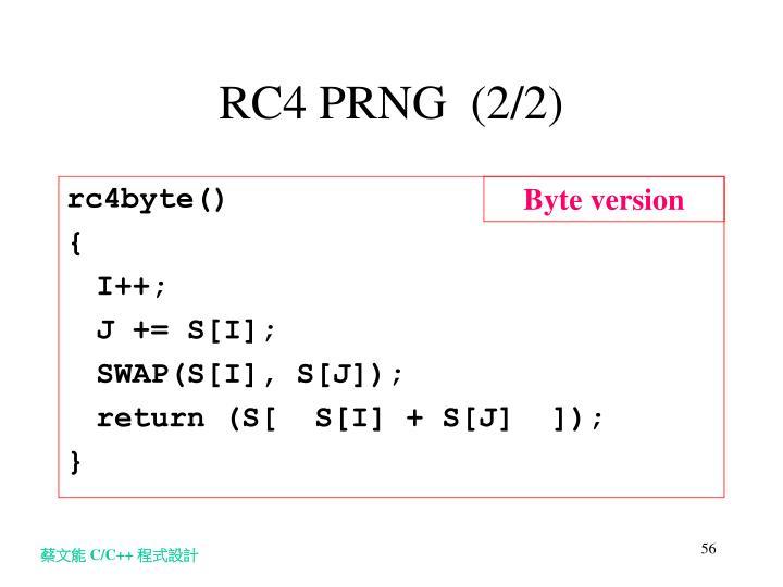RC4 PRNG