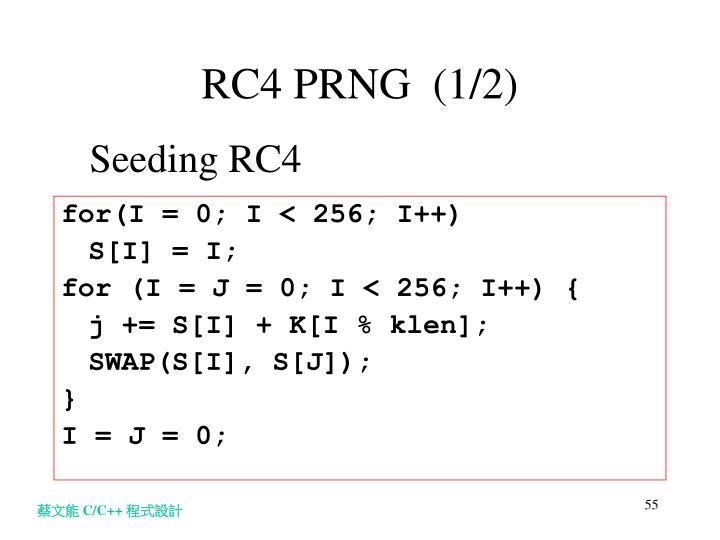 Seeding RC4