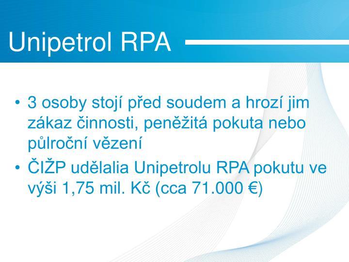 Unipetrol RPA