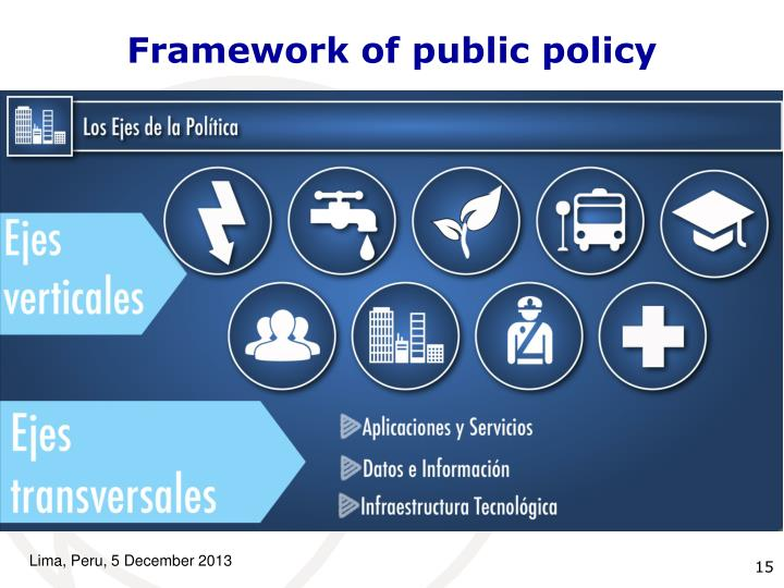 Framework of public policy