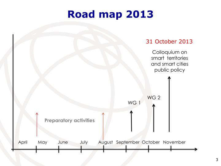 Road map 2013