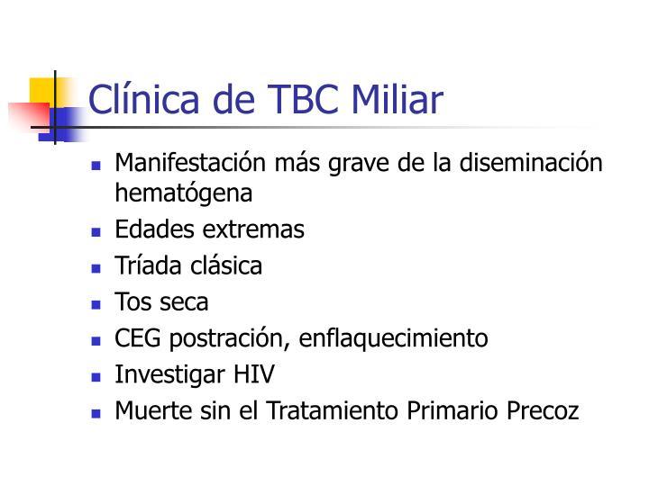 Clínica de TBC Miliar