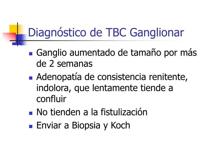 Diagnóstico de TBC Ganglionar