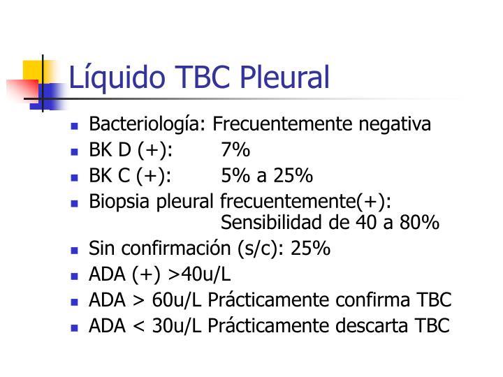 Líquido TBC Pleural