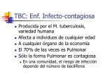 tbc enf infecto contagiosa