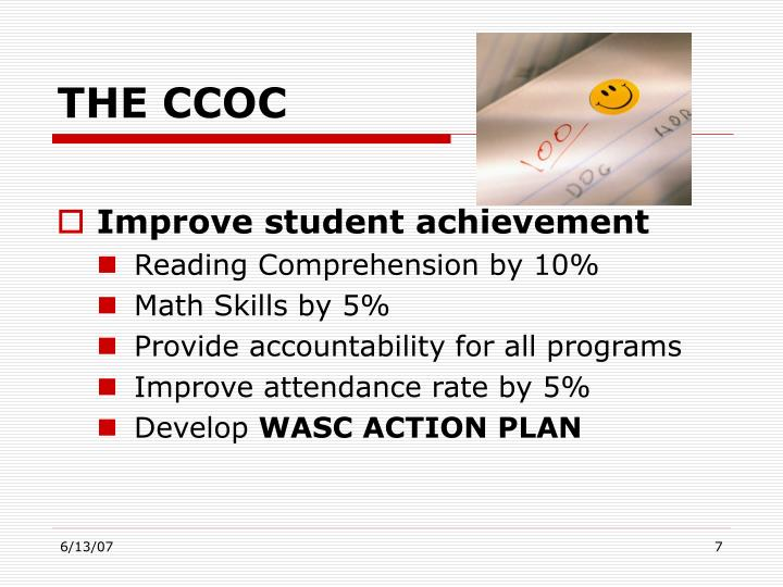 THE CCOC