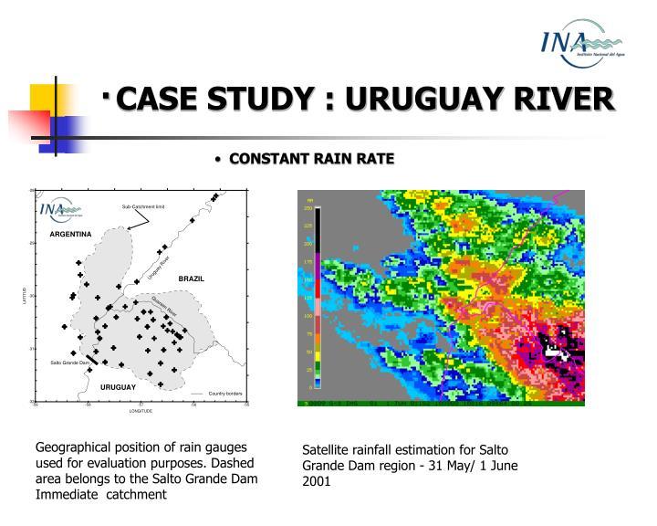 ·CASE STUDY : URUGUAY RIVER