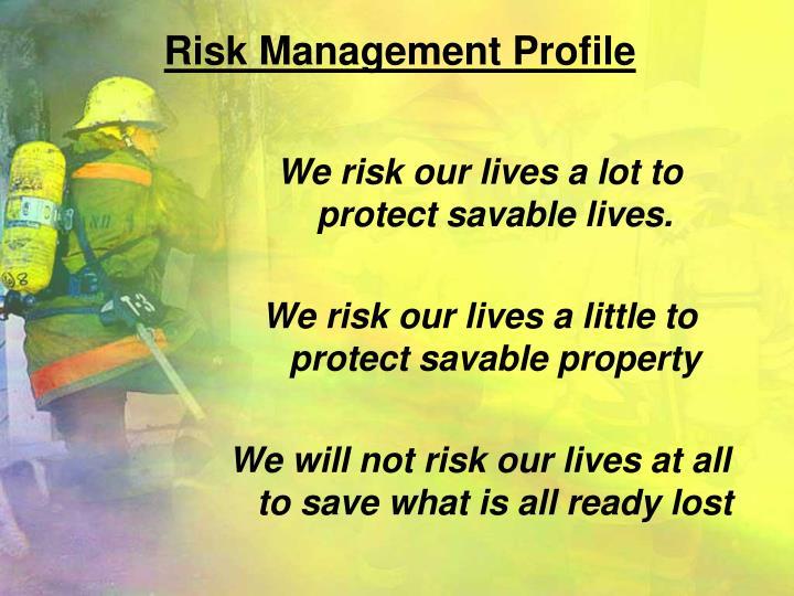 Risk Management Profile